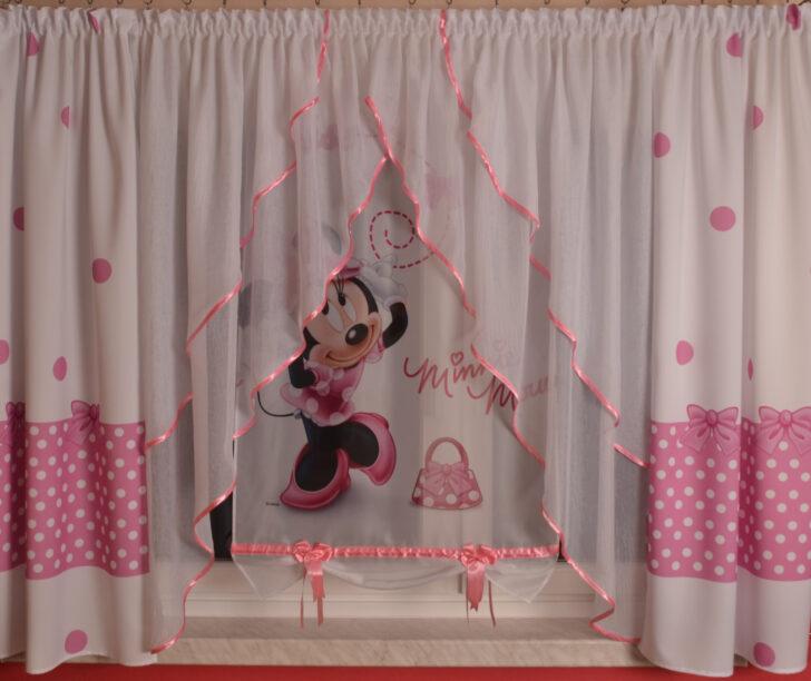 Medium Size of Kinderzimmer Vorhänge Disney Minnie Mouse Gardine Kindergardine Baby Wohnzimmer Küche Schlafzimmer Sofa Regale Regal Weiß Kinderzimmer Kinderzimmer Vorhänge