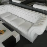 Big Sofa Leder Designer Chesterfield 270 Cm Couch 5 Sitzer Esszimmer Dreisitzer Bora Halbrundes 2er Grau Mit Elektrischer Sitztiefenverstellung Aus Matratzen Sofa Big Sofa Leder