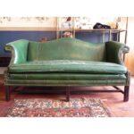 Image Of Hunter Green Chippendale Sofa Couch Stoff Grau Xxl U Form Sitzsack Ikea Mit Schlaffunktion Günstig Für Esstisch Wildleder Leder Braun L Polyrattan Sofa Chippendale Sofa