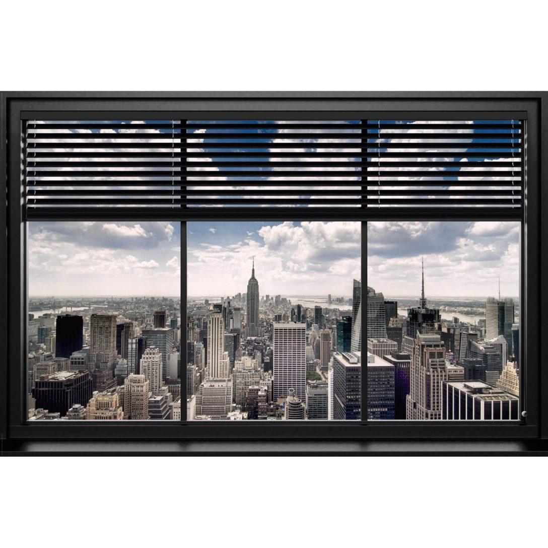 Large Size of Obi Fenster Wandbild New York Lamellen 90 Cm 60 Kaufen Bei Velux Ersatzteile 3 Fach Verglasung Marken Konfigurieren Schüco Preise Rc3 Sichtschutz Fenster Obi Fenster