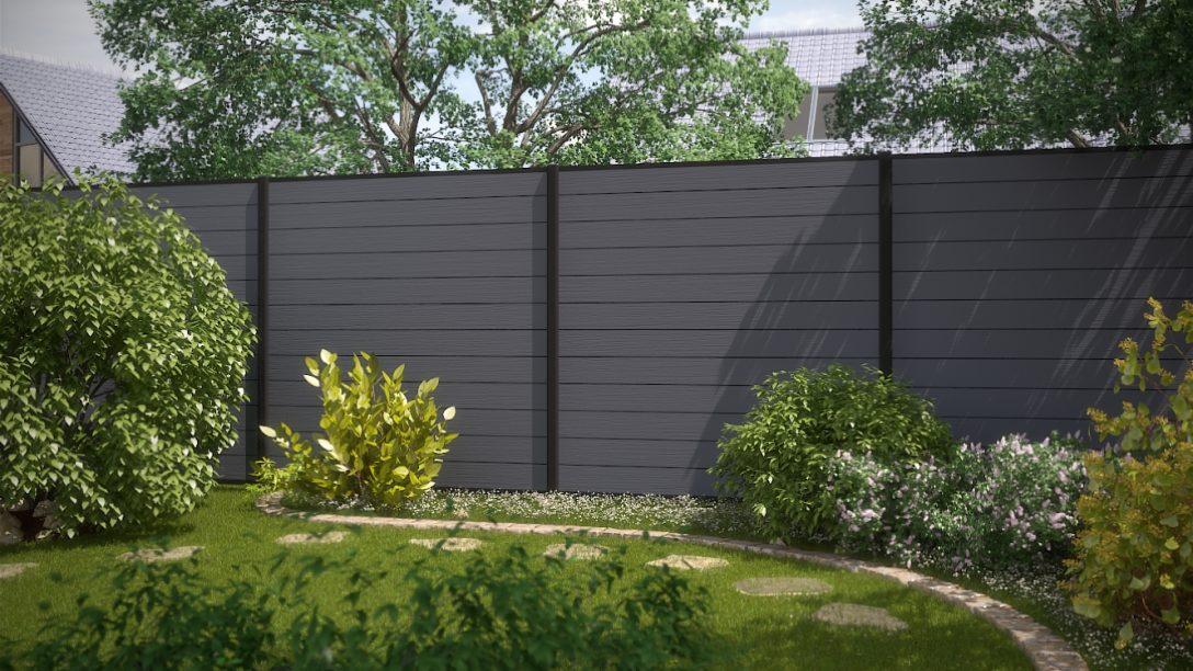 Large Size of Garten Trennwand Sichtschutz Metall Holz Selber Bauen Paletten Selbst Rost Hornbach Wand Schweiz 2 Zaundesign System Wpc Grau Und Anthrazit Bewässerung Garten Garten Trennwand