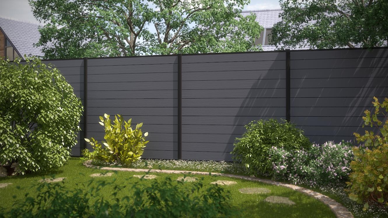 Full Size of Garten Trennwand Sichtschutz Metall Holz Selber Bauen Paletten Selbst Rost Hornbach Wand Schweiz 2 Zaundesign System Wpc Grau Und Anthrazit Bewässerung Garten Garten Trennwand