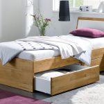 Bett Einzelbett Aus Holz Mit Schubladen Kaufen Leova Bettende Grau Ohne Kopfteil Massiv 180x200 Antik Schöne Betten Ruf Schramm Lattenrost Modern Design Bett Bett Einzelbett