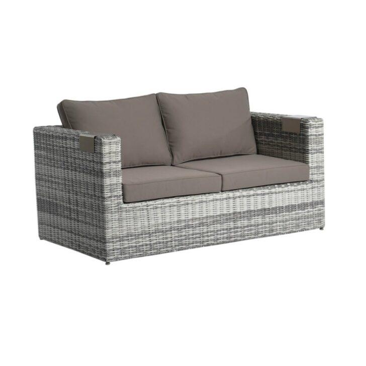 Medium Size of Polyrattan Sofa Ausziehbar Outdoor 2 Sitzer Balkon Couch Grau 2 Sitzer Gartensofa Set Impressionen Kissen Mondo Creme Rattan Garten Canape Relaxfunktion Sofa Polyrattan Sofa