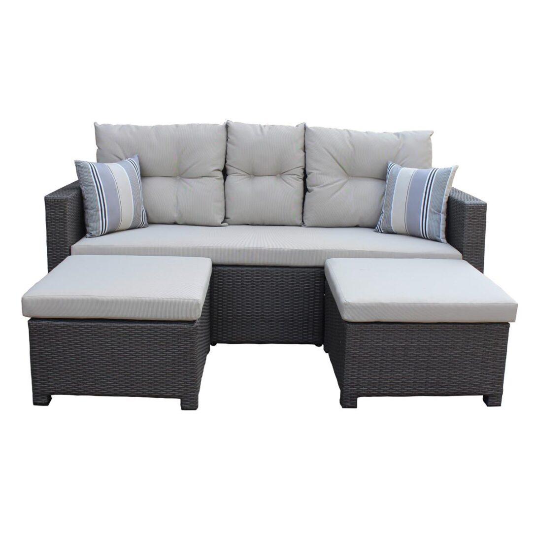 Large Size of Polyrattan Sofa Lounge Rattan Outdoor Tchibo 2 Sitzer Grau Couch Ausziehbar Set 2 Sitzer Balkon Gartensofa Garden Exterior Love Rotin Design Tom Tailor Sofa Polyrattan Sofa