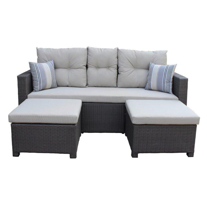 Medium Size of Polyrattan Sofa Lounge Rattan Outdoor Tchibo 2 Sitzer Grau Couch Ausziehbar Set 2 Sitzer Balkon Gartensofa Garden Exterior Love Rotin Design Tom Tailor Sofa Polyrattan Sofa