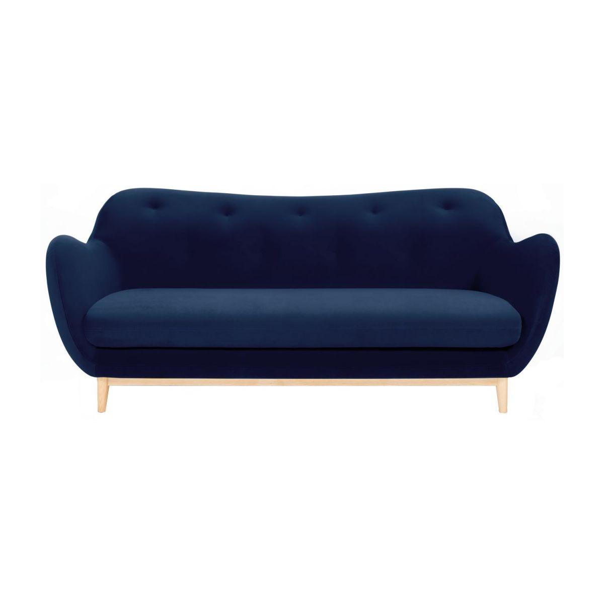 Full Size of Sofa Blau Melchior 3 Sitzer Aus Samt Habitat Terassen Abnehmbarer Bezug Lila Stressless Schlaffunktion Höffner Big Esstisch Günstig Kleines Hersteller Sofa Sofa Blau