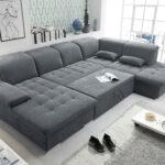 Günstige Sofa Couch Wayne R Schlafcouch Wohnlandschaft Schlaffunktion Angebote Günstig Kaufen Indomo Heimkino Lagerverkauf Schlafzimmer Polster Stoff Grau W Sofa Günstige Sofa