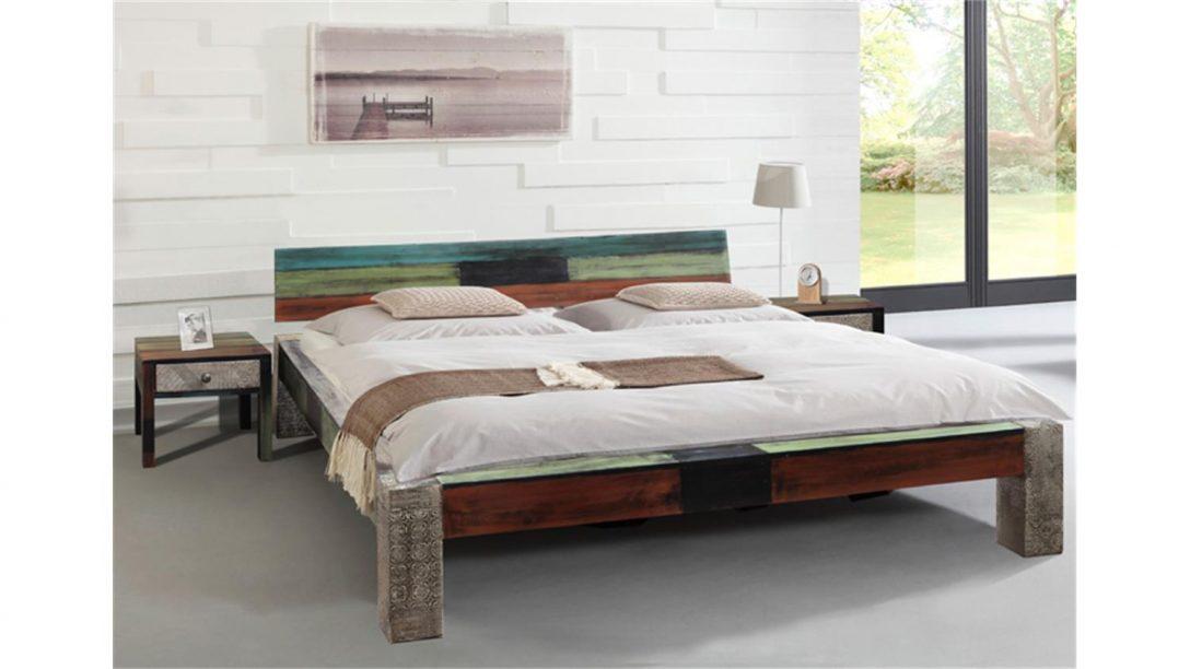 Large Size of Modernes Bett 180x200 Goa Von Wolf Mbel In Massivholz Mango Französische Betten Liegehöhe 60 Cm Dormiente Modern Design Landhausstil 90x200 Mit Lattenrost Bett Modernes Bett 180x200