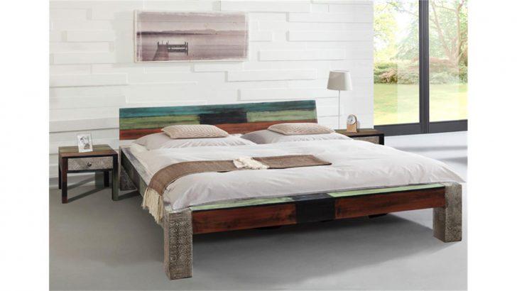 Medium Size of Modernes Bett 180x200 Goa Von Wolf Mbel In Massivholz Mango Französische Betten Liegehöhe 60 Cm Dormiente Modern Design Landhausstil 90x200 Mit Lattenrost Bett Modernes Bett 180x200
