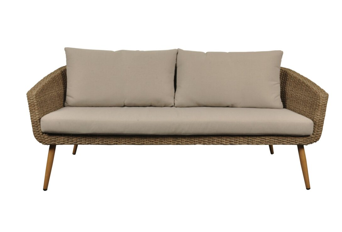 Large Size of Lounge Sofa Polyrattan Outdoor Couch Grau 2 Sitzer Balkon 2 Sitzer Ausziehbar Rattan Gartensofa Tchibo Garden Set Garten Pokoon 3 Pers Auflagen Natur Beige Sofa Polyrattan Sofa