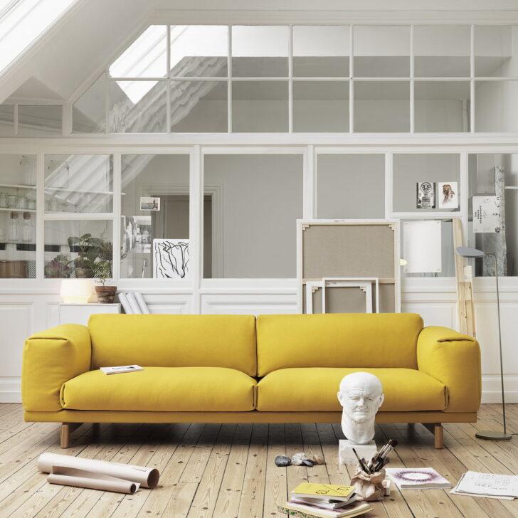 Medium Size of Sofa Gelb Rest 2 Sitzer Von Muuto Connox Barock Mit Bettfunktion 2er Garnitur Teilig Verstellbarer Sitztiefe U Form Relaxfunktion Vitra Ottomane Recamiere Sofa Sofa Gelb