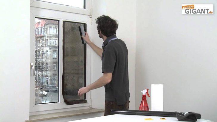 Medium Size of Sonnenschutzfolie Fenster Montage Einer Folien Gigantde Youtube Sonnenschutz Außen Kbe Sichtschutzfolie Einseitig Durchsichtig Weru Preise Mit Lüftung Fenster Sonnenschutzfolie Fenster