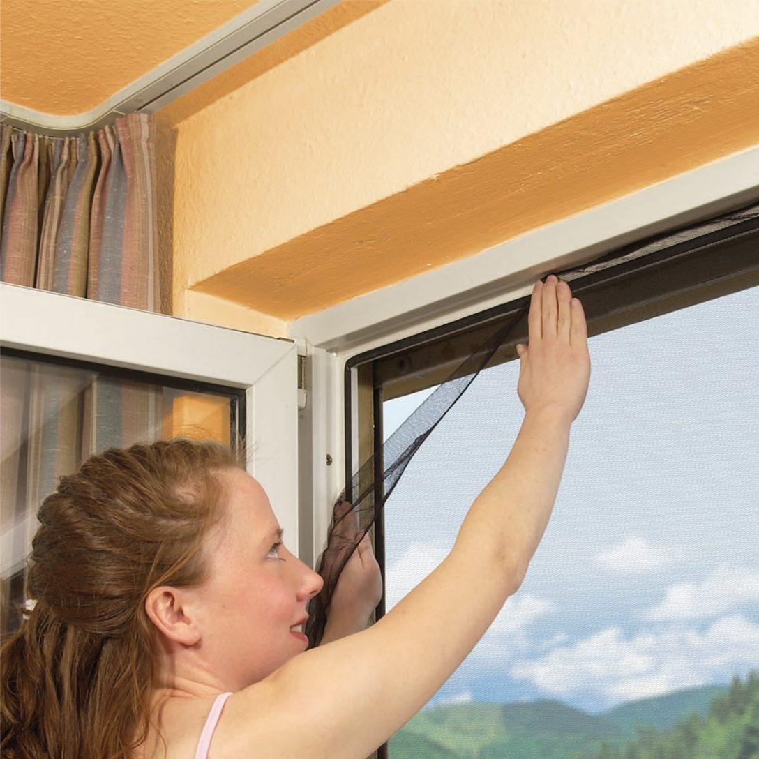 Large Size of Fliegennetz Fenster Rollo Tesa Fliegengitter Befestigen Kaufen Bauhaus Magnet Proheim Aktion 130 150 Cm Mit Klettband Insektenschutz Ohne Bohren Fenster Fliegennetz Fenster