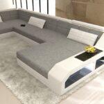 Sofa Stoff Sofa Stoff Sektionaltor Sofa Houston U Form Designer Couch Mit Led Englisches Elektrisch 3 Sitzer Angebote W Schillig Abnehmbarer Bezug Creme Hocker Schlaffunktion