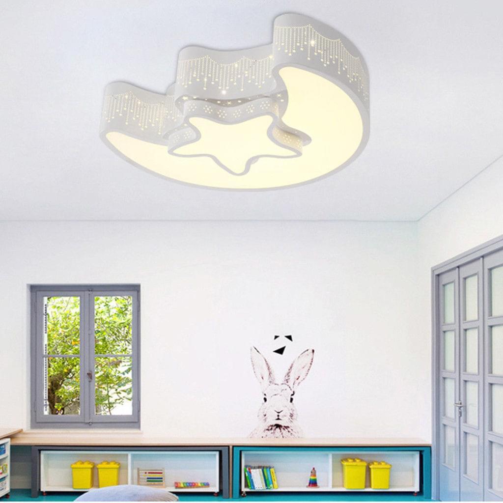 Full Size of Deckenlampe Kinderzimmer Natsen 24w Kristal Led Leuchte Real Regal Weiß Deckenlampen Wohnzimmer Schlafzimmer Bad Modern Esstisch Sofa Für Regale Küche Kinderzimmer Deckenlampe Kinderzimmer