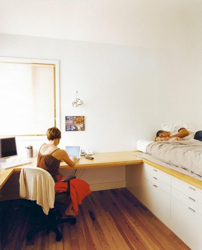 Full Size of Bett Mit Schreibtisch Ideen Und Als Platzsparende Einrichtung Sofa Elektrischer Sitztiefenverstellung Jabo Betten 200x200 Komforthöhe 90x200 Weiß Schubladen Bett Bett Mit Schreibtisch