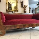 Sofa Antik Sofa Sofa Antik Stil Couch Gebraucht Leder Optik Ledersofa Braun Kaufen Look Bali Antiklederoptik Sofas Schweiz Big Restauriertes Originales Biedermeier Nussholz