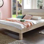 Schickes Holzbett Madrid In Buche Online Kaufen Bettende Bett Www.betten.de