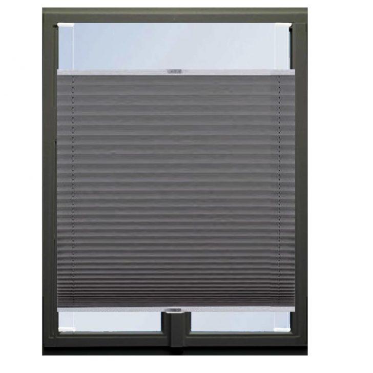 Medium Size of Plissee Fenster Anthrazit 60cm 130cm Zum Verspannen Ohne Real Folie Drutex Test Sichtschutzfolie Für Sicherheitsfolie Dachschräge Insektenschutz Bohren Roro Fenster Plissee Fenster