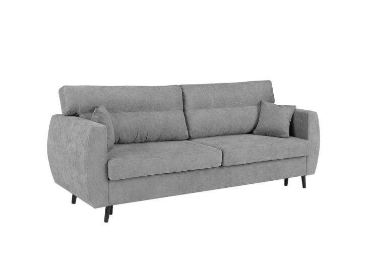 Medium Size of Sofa Louisiana (3 Sitzer Mit Polster Grau) Ikea 3 Sitzer Grau Schlaffunktion Leder Couch Samt 3 Sitzer Nino Schwarz/grau Rattan 2 Und Retro Kingsley Anabel Sofa Sofa 3 Sitzer Grau
