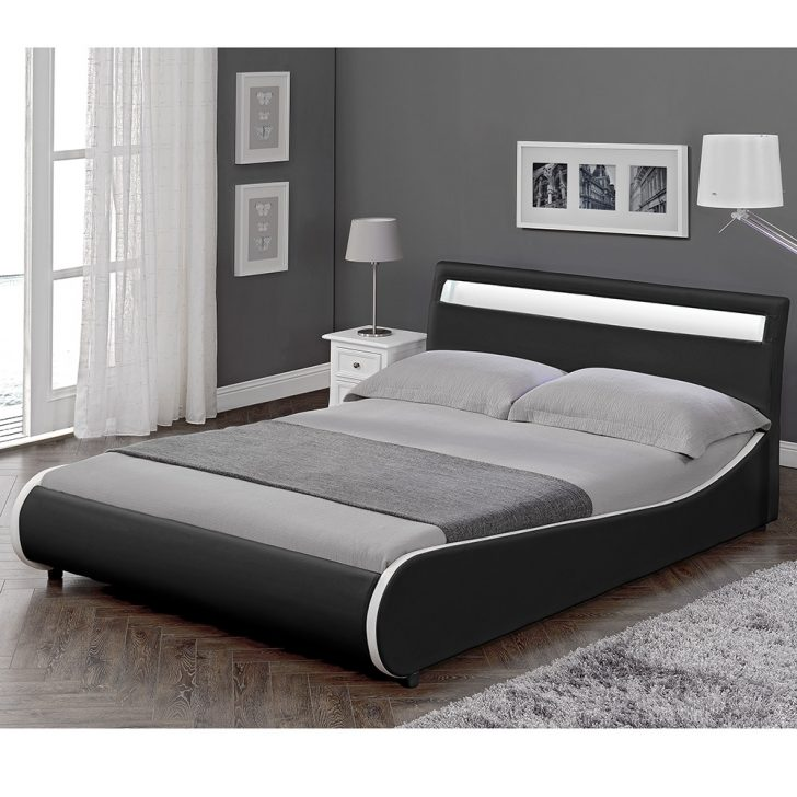 Medium Size of Corium Led Design Polsterbett 140x200cm Schwarz Doppel Bett Selber Bauen 180x200 Betten Düsseldorf Mit Schubladen 160x200 Hülsta Boxspring Weiße Bett Bett Schwarz Weiß