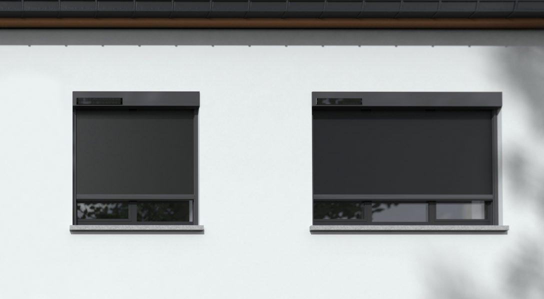 Large Size of Solargetriebener Fixscreen Von Renson Zum Nachrsten Solar Runde Fenster Sicherheitsbeschläge Nachrüsten Einbauen Kosten Fototapete Aron Jalousien Innen Fenster Sonnenschutz Fenster