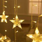 Fenster Beleuchtung Fenster Fensterbeleuchtung Weihnachten Kinderzimmer Fenster Indirekte Beleuchtung Led Schneeflocke Strom Sterne Bunt Mit Kabel Stern Timer Innen Weihnachts Fliegennetz