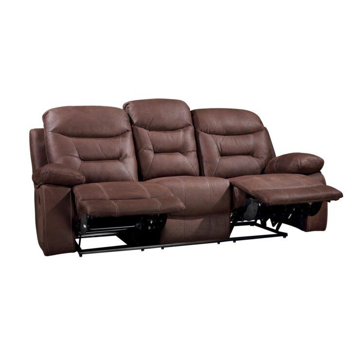 Medium Size of 2 Sitzer Sofa Mit Relaxfunktion 3 Greta Braun Sb Lagerkauf 120x200 Bett Stauraum 160x200 Schlafsofa Liegefläche 180x200 Esstisch 4 Stühlen Günstig Sofa 2 Sitzer Sofa Mit Relaxfunktion