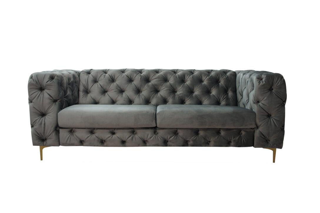 Large Size of Lc Home 3er Sofa Dreisitzer Couch Kingdom Chesterfield Samt Barock Karup überwurf Weiß Grau Relaxfunktion Big Mit Schlaffunktion Günstig Poco 3 Sitzer Bezug Sofa Chesterfield Sofa Grau
