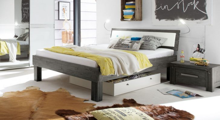 Medium Size of Graues Bett Ikea Bettlaken Passende Wandfarbe Kombinieren Waschen 180x200 Dunkel Samtsofa Welche 160x200 120x200 140x200 Im Industrial Design Aus Akazie Bett Graues Bett