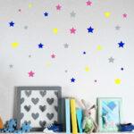Nette Little Stars Wandtattoo Regal Weiß Sofa Regale Kinderzimmer Wandaufkleber Kinderzimmer