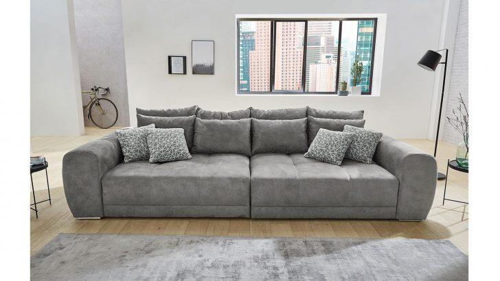 Medium Size of Big Sofa Xxl Moldau Couch In Microfaser Grau Mit Kissen Blaues Led Zweisitzer L Schlaffunktion Englisches Kare U Form Ebay Leder Groß Halbrund Relaxfunktion Sofa Big Sofa Xxl