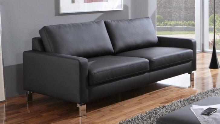 Medium Size of Sofa Intermezzo 3 Sitzer In Schwarz Federkern Und Chromfe 204 Cm Xxl U Form Halbrund 3er Grau Stoff 2 Mit Schlaffunktion Leder Bettkasten Bezug Alternatives Sofa Sofa Federkern