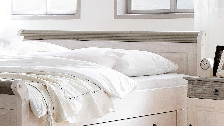 Full Size of Bett 200x200 Weiß Oslo Doppelbett Aus Kiefer Massiv Wei Lava Cm Ohne Kopfteil Mit Schubladen 180x200 Skandinavisch Günstiges Betten Für übergewichtige Bett Bett 200x200 Weiß