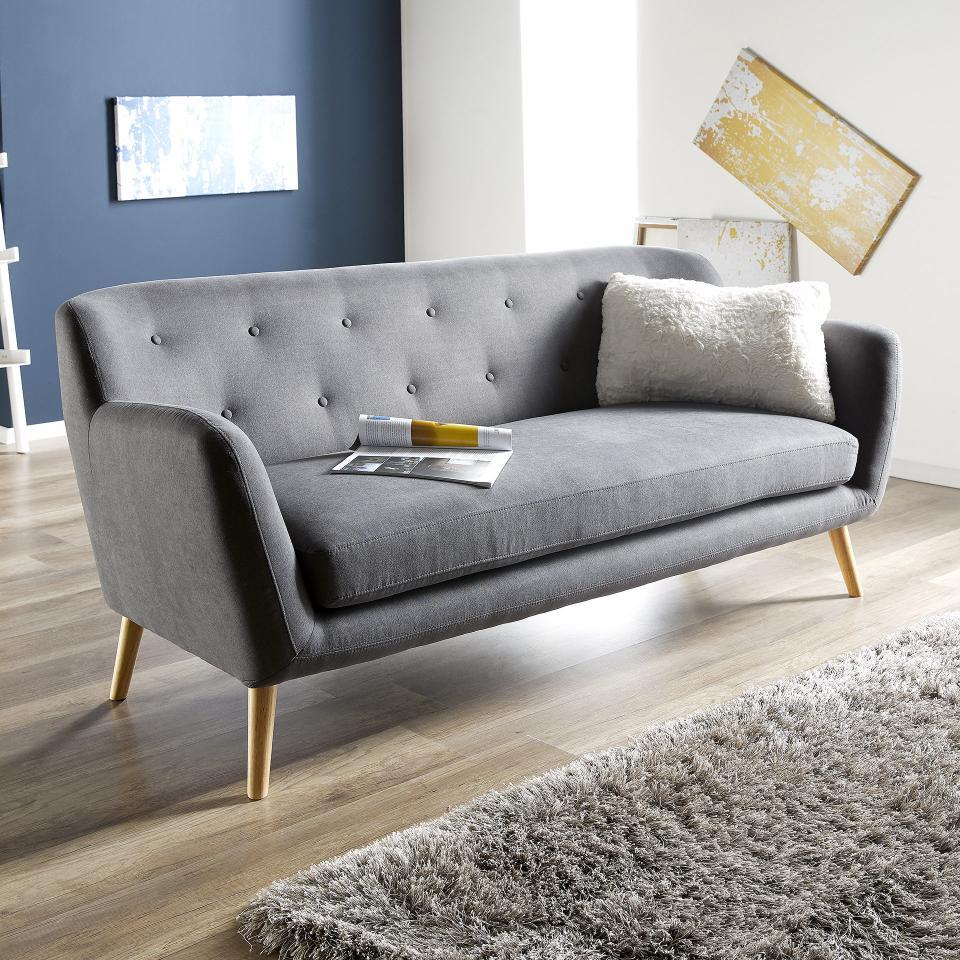 Full Size of Sofa 3 Sitzer Grau Louisiana (3 Sitzer Mit Polster Grau) Couch Retro Kingsley 3 Sitzer Rattan Samt Ikea Leder Schlaffunktion 2 Und Nino Schwarz/grau Liseleje Sofa Sofa 3 Sitzer Grau