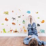 Wandaufkleber Kinderzimmer Kinderzimmer Sofa Regale Regal Weiß