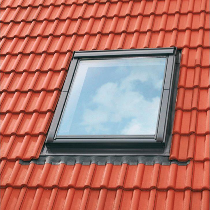 Medium Size of Velux Fenster Velueindeckrahmen Ziegel 55 Cm 78 Edz Ck02 0000 Kaufen Bei Obi Klebefolie Für Insektenschutz Alarmanlage Plissee Fliegengitter Auto Folie Fenster Velux Fenster