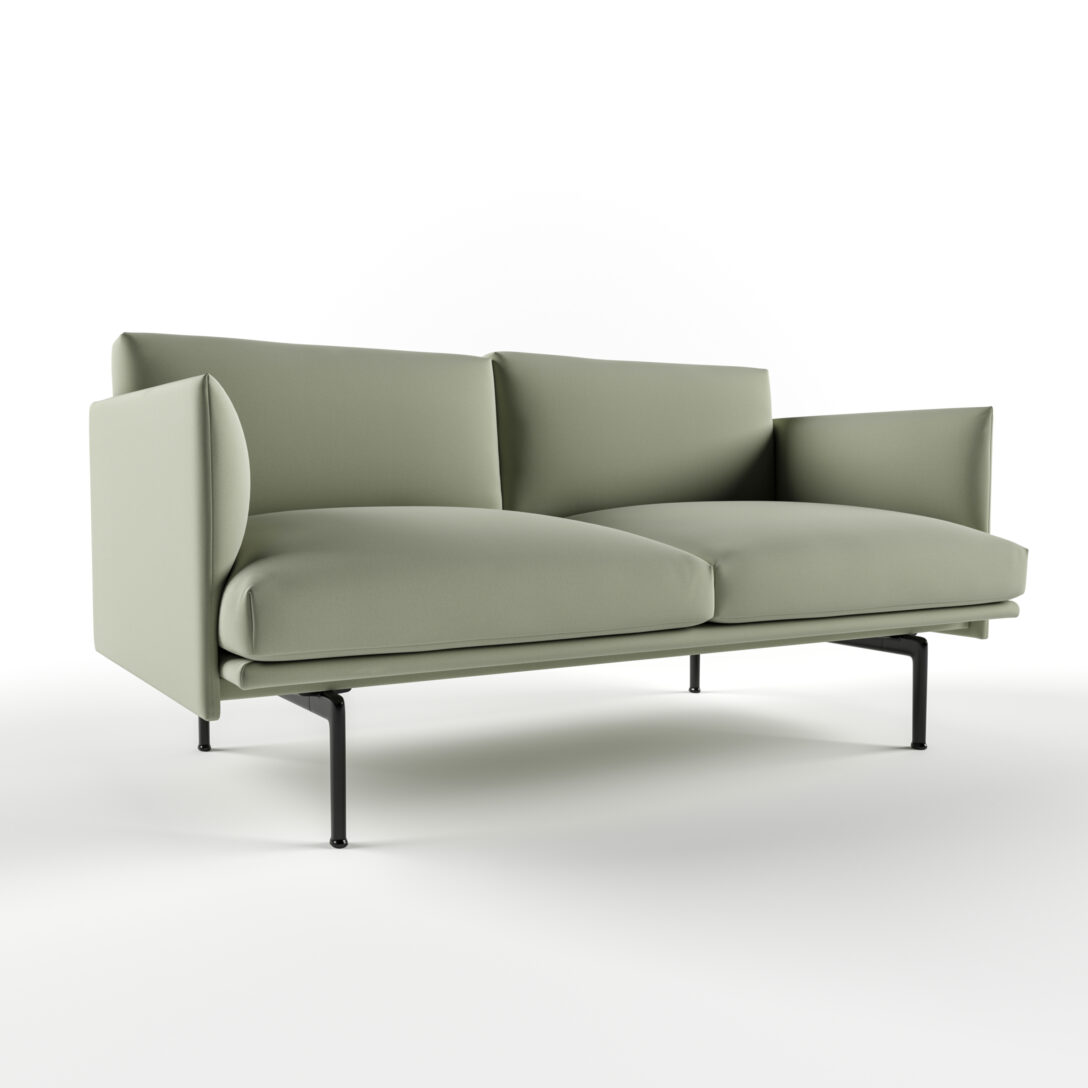Large Size of Muuto Sofa Furniture Uk Sofabord Cecilie Manz Connect Outline Chaise Longue Sale Oslo 2 Seater Leather Modular 3 1/2 Rest Umriss 3d Modell Turbosquid 1455862 Sofa Muuto Sofa