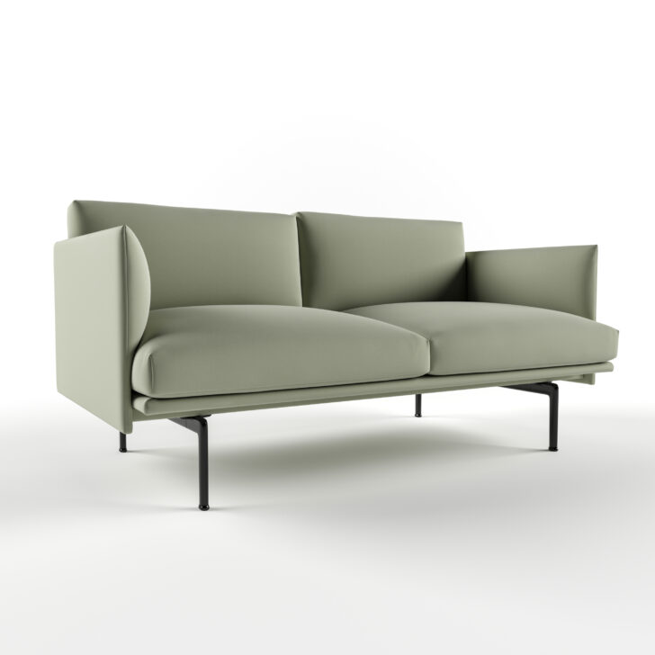 Medium Size of Muuto Sofa Furniture Uk Sofabord Cecilie Manz Connect Outline Chaise Longue Sale Oslo 2 Seater Leather Modular 3 1/2 Rest Umriss 3d Modell Turbosquid 1455862 Sofa Muuto Sofa