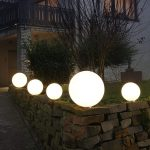 Kugelleuchten Garten Kugellampen Amazon Obi Led Kugelleuchte Solar Test Standortfeste Snowball Wei Malu Fu Kaufen überdachung Edelstahl Brunnen Im Gaskamin Garten Kugelleuchten Garten