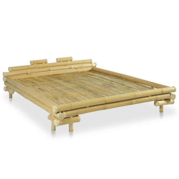 Medium Size of Bambus Bett Bambusbett 160 200 Cm Natur Gitoparts 200x180 Coole Betten Flach Ausklappbares Liegehöhe 60 Wildeiche Mit Bettkasten 160x200 Hohem Kopfteil Bett Bambus Bett