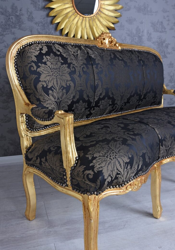 Sofa Barock Barockstil Baroque Style Set Schwarz Gold Silber Stil Gebraucht Kaufen Grau Sofas Blau Palazzo24de Polyrattan Kleines überzug Tom Tailor Garten Sofa Sofa Barock