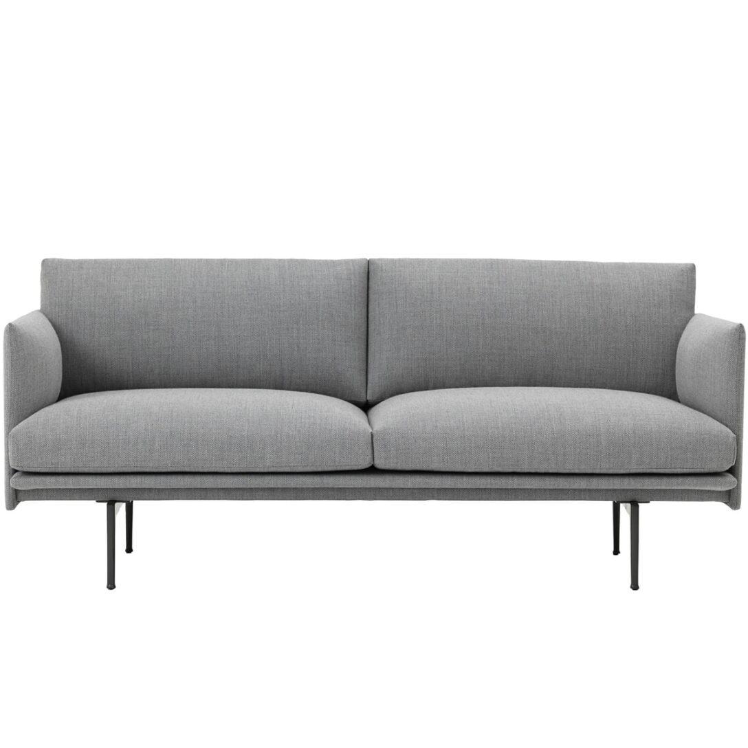 Large Size of Sofa Stoff Grau Outline 2 Sitzer Von Muuto Connoshop Indomo Weißes Flexform Schlaf überzug Big Braun Bezug Ecksofa L Mit Schlaffunktion Relaxfunktion Sofa Sofa Stoff Grau