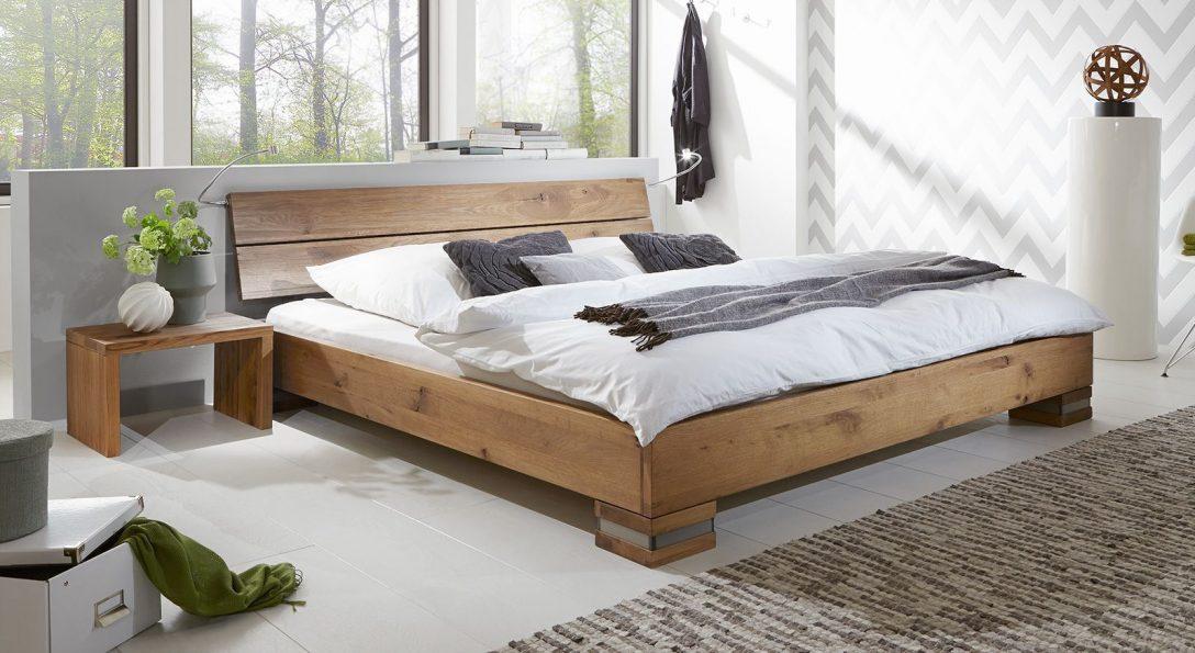 Large Size of Bewertung Betten Massivholzbett Und Kopfteil In Rustikaler Eiche Curada Bett Www.betten.de