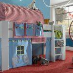 Steens Bett Hochbett For Kids Wei Mdf Vorhnge Zirkus 90x200 Cm Nolte Betten Modernes Mit Gästebett Weiß 100x200 Sofa Bettkasten Außergewöhnliche De 220 X Bett Steens Bett