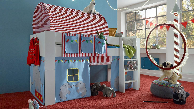 Full Size of Steens Bett Hochbett For Kids Wei Mdf Vorhnge Zirkus 90x200 Cm Nolte Betten Modernes Mit Gästebett Weiß 100x200 Sofa Bettkasten Außergewöhnliche De 220 X Bett Steens Bett