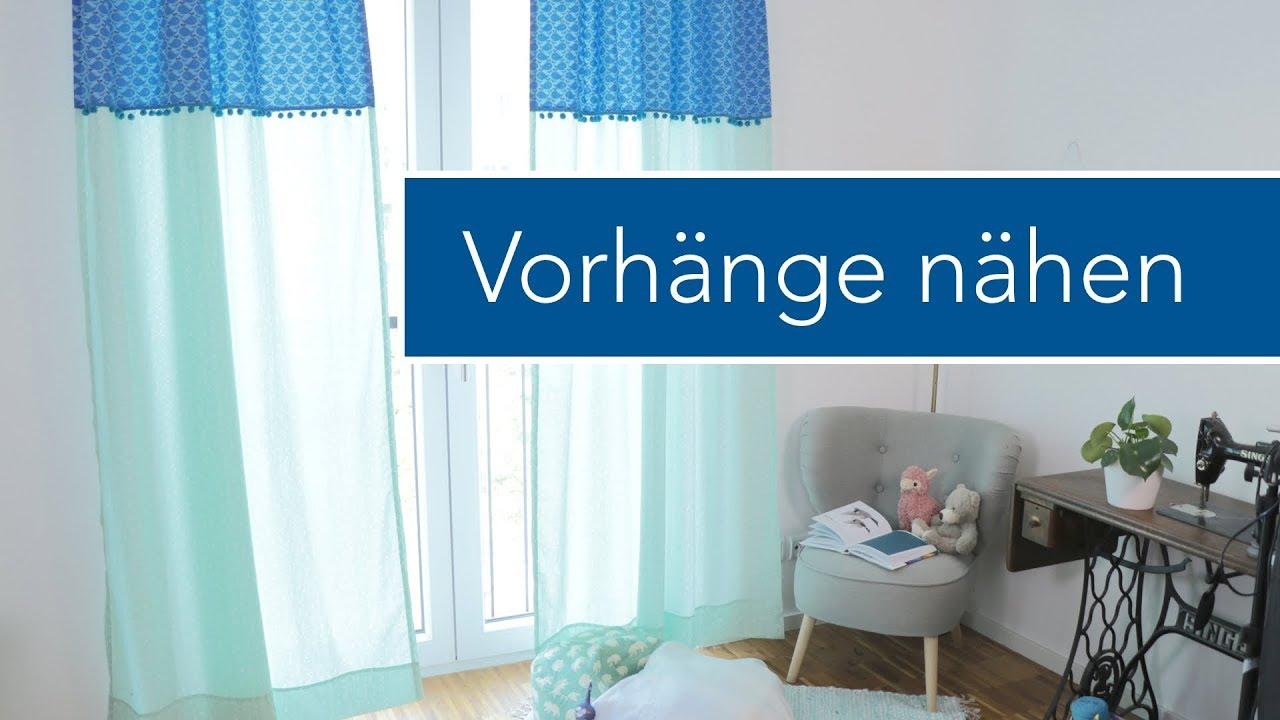 Full Size of Kinderzimmer Vorhänge Vorhnge Selber Nhen Frs Youtube Wohnzimmer Regal Schlafzimmer Regale Weiß Küche Sofa Kinderzimmer Kinderzimmer Vorhänge