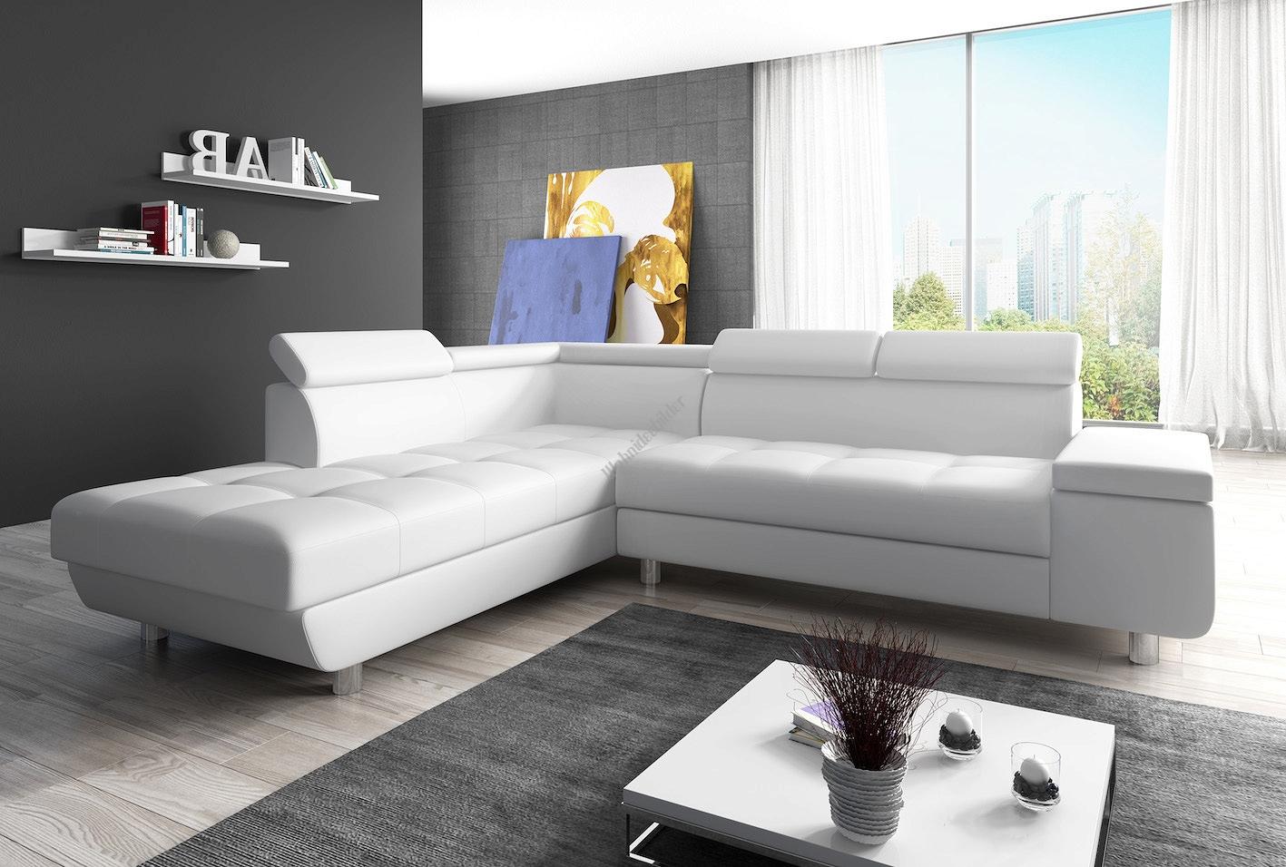 Full Size of Couch Garnitur Ecksofa Sofagarnitur In Kunstleder Wei Sofa Reeno Lila Halbrund 2 5 Sitzer Delife Rotes Sitzhöhe 55 Cm Modulares Günstig Kaufen Reiniger Sofa Sofa Garnitur