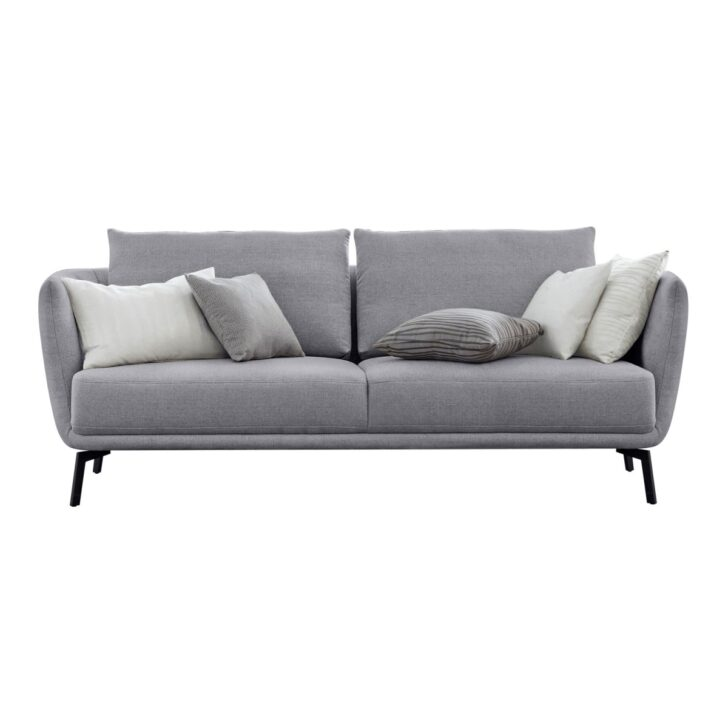 Medium Size of Couch 3 Sitzer Grau 2 Und Sofa Leder 3 Sitzer Nino Schwarz/grau Mit Schlaffunktion Retro Kingsley Louisiana (3 Sitzer Polster Grau) Ikea Samt Rattan Led Sofa Sofa 3 Sitzer Grau